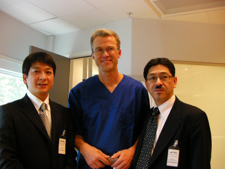 オペ担当医と世界的にも有名な高橋哲教授と